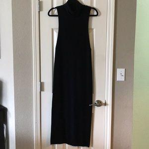 Women's Black Sweater Dress